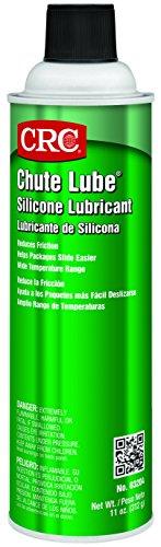 (CRC 03204 Chute Lube Silicone Lubricant Spray, 20oz Aerosol ( Net fill : 11oz. ))