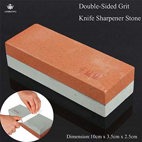 Best Quality - Sharpeners - Double-Sided Kitchen Knife Sharpener Stone pocket diamond whetstone sharpening stones kitchen accessories - by HURA - 1 PCs