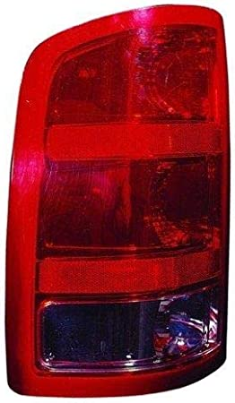 Passengers Taillight Tail Lamp Lens Replacement for GMC Pickup Truck 25958485