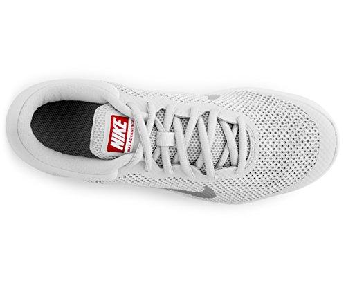 Nike Damen Sneaker Air Max Advantage Sportschuh Grau Weiß