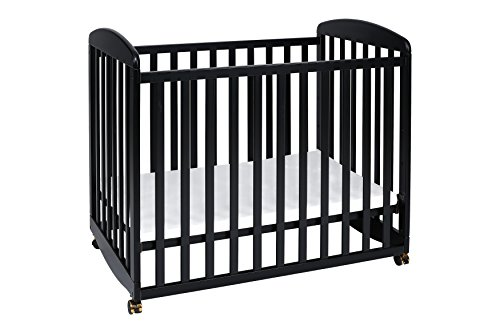 DaVinci Alpha Mini Rocking Crib, Ebony