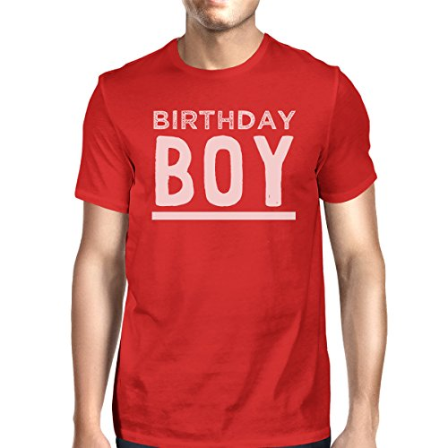 Size 365 One Birthday manga de Printing Red hombre para corta Camiseta Boy xTw8qAnHTf
