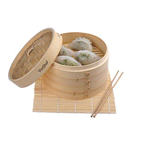 Bamboo Steamer - 1