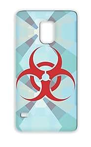 Bio Hazard Sign Red For Sumsang Galaxy S5 Symbols Shapes Biology Outbreak Laboratory Illness Danger Warfare Terrorism Flu Cover Case