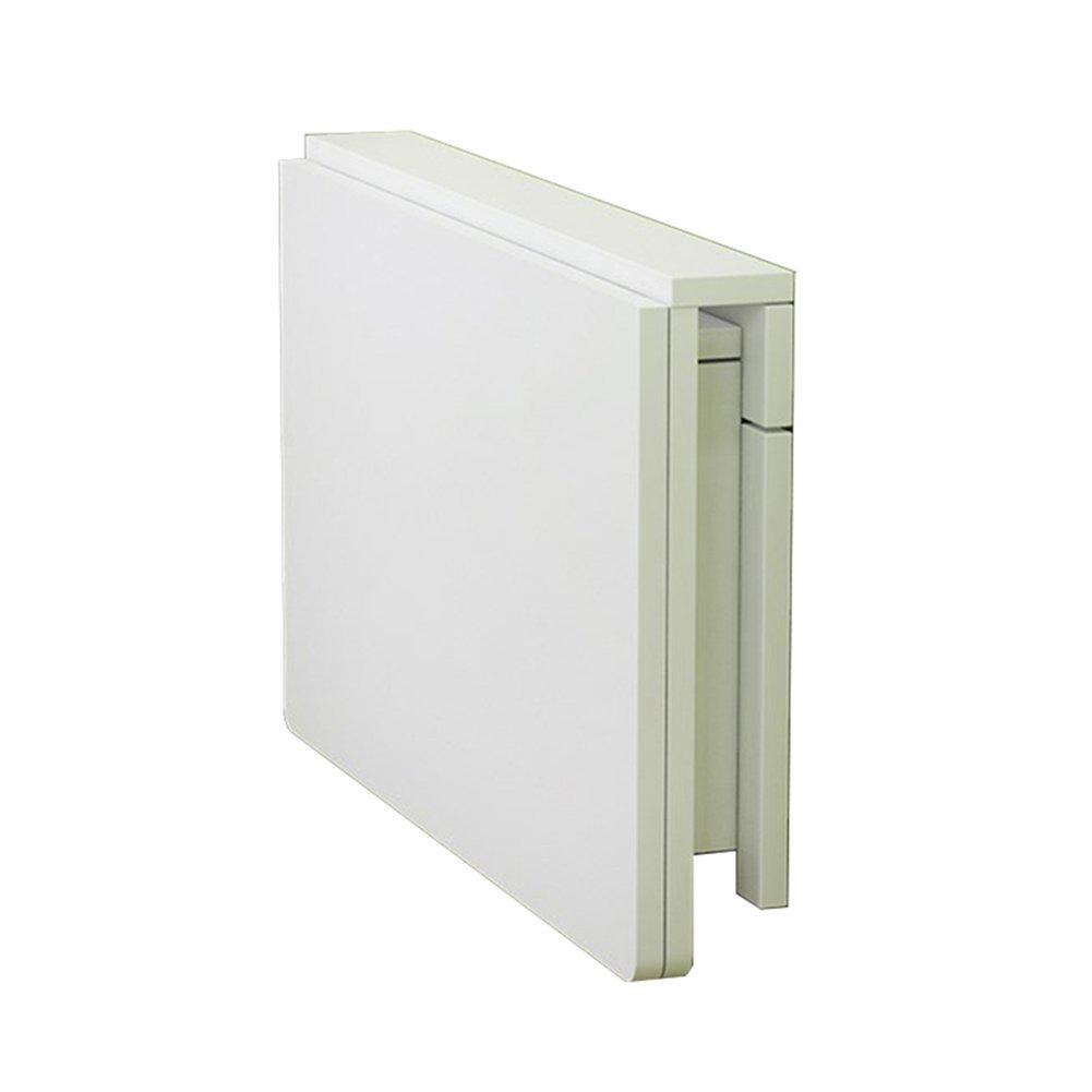 LXLA白いドロップリーフテーブル折りたたみ式壁掛け式壁掛けコンピュータワークステーション子供向けスタディオーガナイザー、キッチン、ダビ引き、リビングルーム、ベッドルーム (サイズ さいず : 120×60cm) B07DYPKGZ7 120×60cm 120×60cm