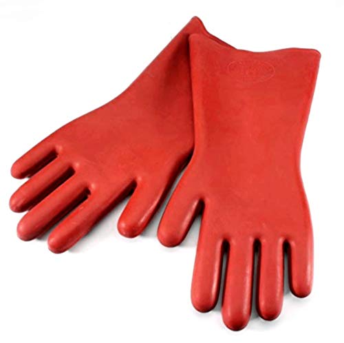 BeeSpring 12KV Insulating Gloves Rubber Safety Electrical Protective Gloves