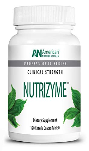 American Nutriceuticals - Nutrizyme - 120 Tablets | Professionally Formulated Proteolytic Enzyme Complex | Supports Immunity, Circulation & Metabolic Balance