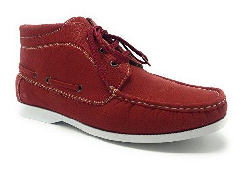 Robe Noire Marron Bleu Rouge / Chaussures Confort Décontracté En Dentelle Plate Rouge