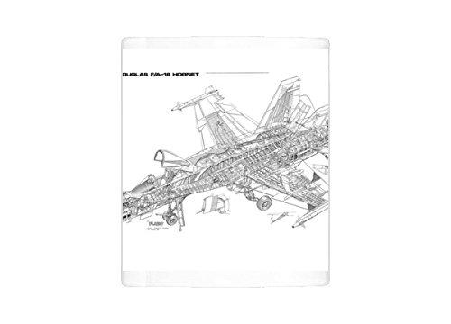Hornet 18a (Mug of Boeing F/A-18A Hornet Cutaway Drawing (1569747))