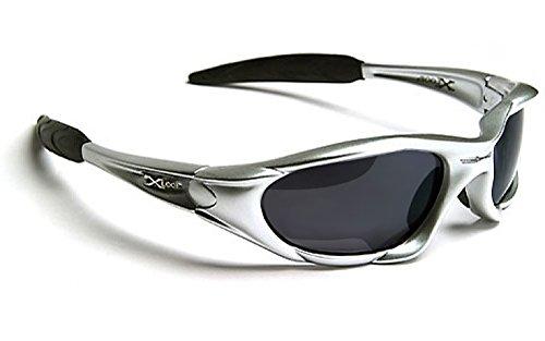 X-Loop Lunettes de Soleil - Sport - Cyclisme - Ski - Mode - Conduite - Moto - Plage / Mod. 010P Gris Anthracite Noir hshm5iBXUc