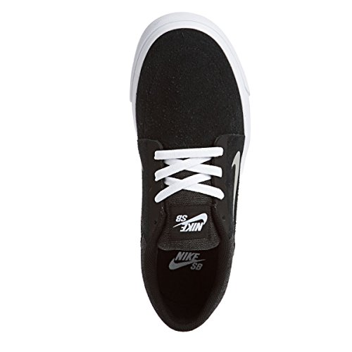 NIKE Men's SB Portmore Ankle-High Skateboarding Shoe Black/White/Medium Grey cheap from china dzUjcfd