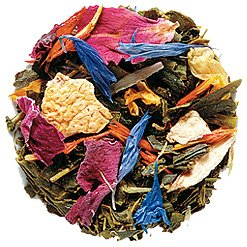 Lupicia Tropical Paradise Green with Tropical Fruits and Bright-colored Flower Petals 50g Loose Tea Leaf