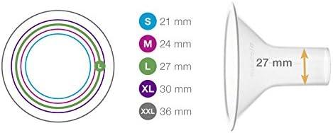 - 21 mm Embouts Seuls Lot de 2 Taille S Medela T/éterelles PersonalFit