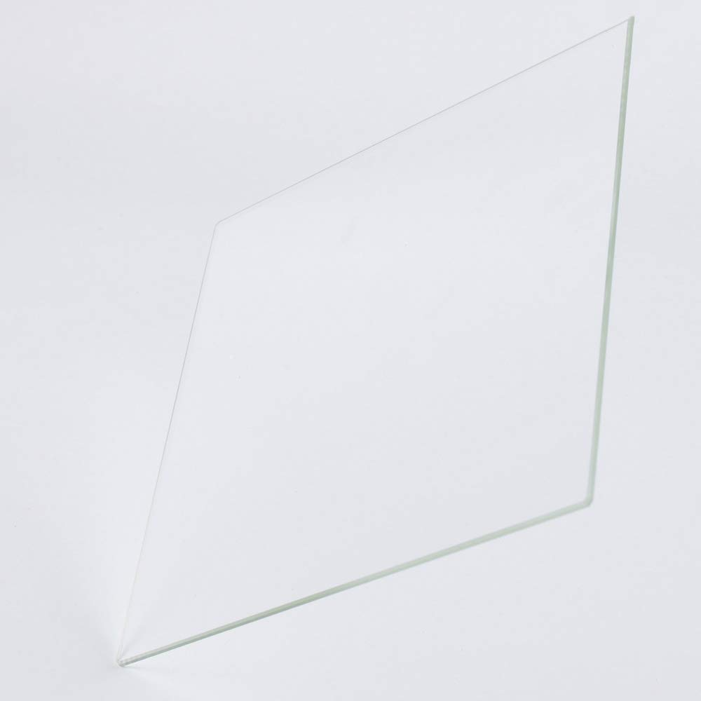 Perfectly Flat Glass With Polished Edges 500mm x 500mm x 4mm Borosilicate Glass Build Plate for 3D Printers
