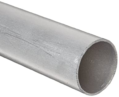 Amazon Com Rmp 6061 T6 Aluminum Round Tube 1 2 Inch Od X 0 065 Inch Wall 24 Inch Length Extruded Unpolished Mill Finish Industrial Scientific
