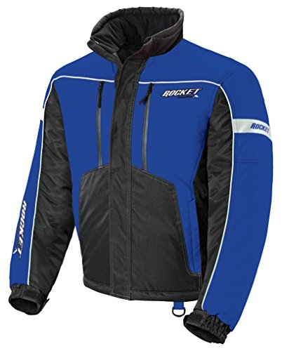 (Joe Rocket Men's Storm Jacket Blue XX-Large)