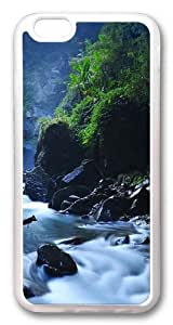 Beautiful Taiwan Forest Waterfalls Custom iPhone 6 Case Cover TPU Transparent