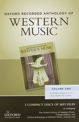 Oxford Record.Anth.Western Music 2 Cds