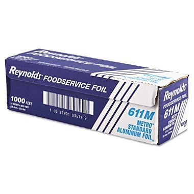 Kirkland Signature, Reynolds Standard Foodservice Foil Roll Premium Quality 1,000 Linear Feet 12