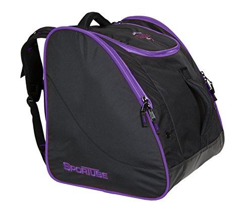 Sportube Freerider Padded Gear and Boot Bag, Black/Purple by Sportube