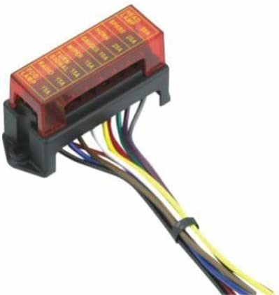 Keep It Clean 202214 ATC 8-Fuse Block with Cover