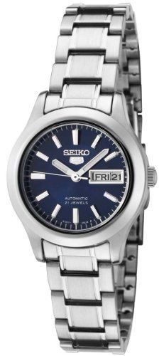 Seiko Women's SYMD93K1 Seiko 5 Automatic Blue Dial Stainless Steel Watch