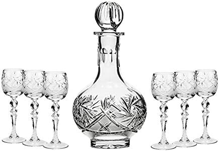 Vintage 12 Liquor Decanter Collection