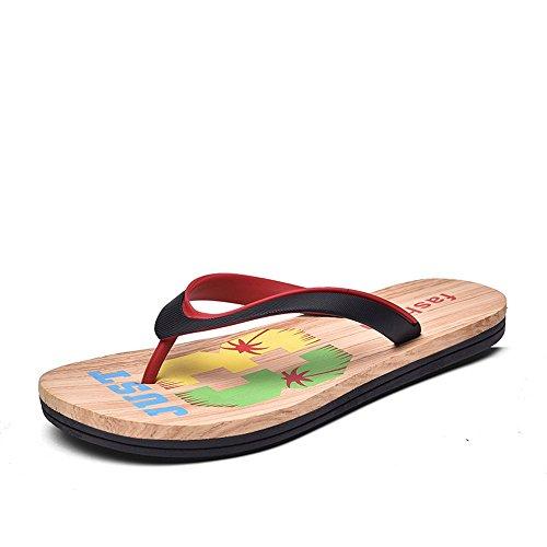 EU Pantofola blue 44 shoes da per Black spiaggia Dimensione Color Red Classic 2018 da Xujw Sandali sandali uomo da Uomo Sapphire infradito aH8XwwqU