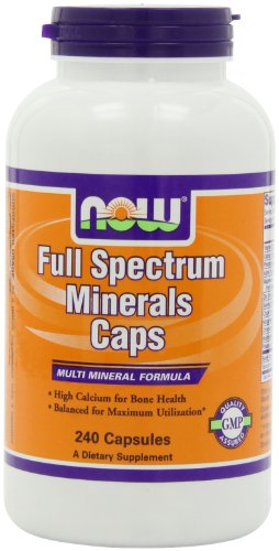 NOW Foods Full Spectrum Mineral, 240 Capsules