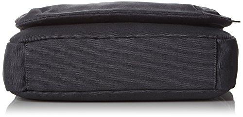 Ecco Eday 3.0 Small, Bolsa de Medio Lado para Hombre, Gris (Grau (90347), 36x32x9 cm (B x H x T)