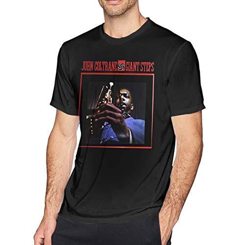 Mens T-Shirt John Coltrane Giant Steps Tee,Black,3X-L ()