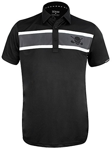 Tattoo Golf Clubhouse ProCool Men's Golf Shirt - Large (Tattoo Golf)