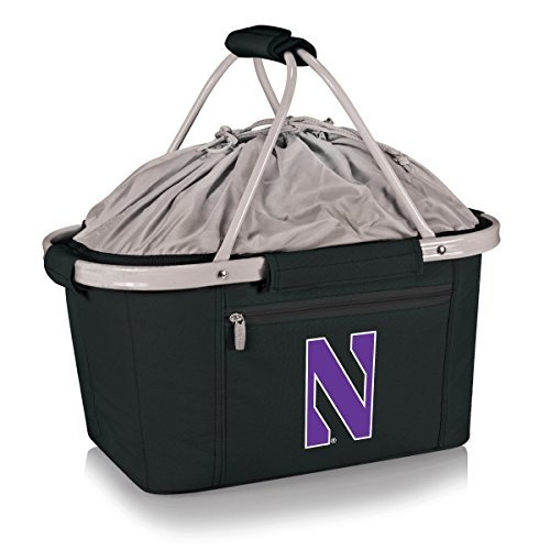 NCAA Northwestern Wildcats Metro Basket by Picnic Time