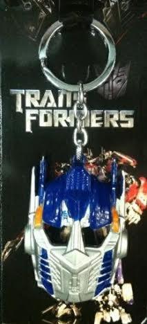 Transformers Optimus Prime Keychain - Transformers Optimus Prime Blue Keychain Holder