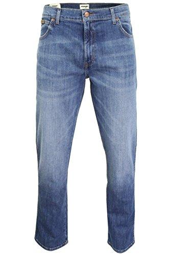 Jay Wrangler Straight Original Uomo Jeans Texas Blue 1rwYqC1