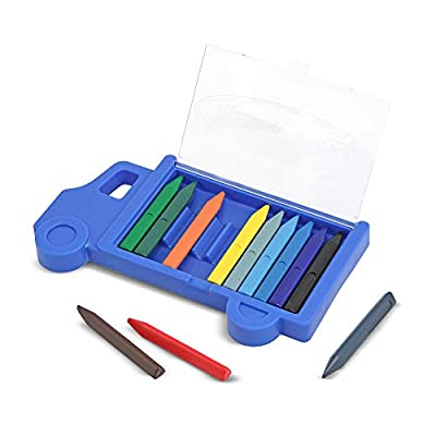 Melissa & Doug Truck Crayon Set - 12 Colors: Melissa & Doug: Toys & Games