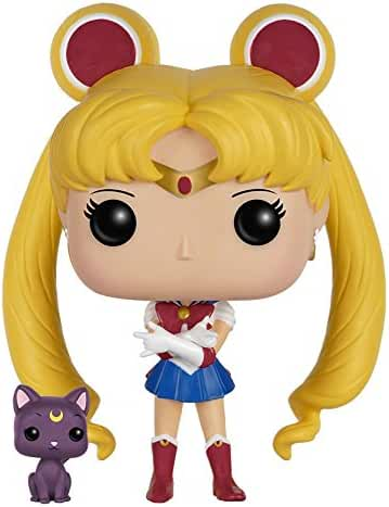 Funko POP Anime: Sailor Moon with Luna Action Figure