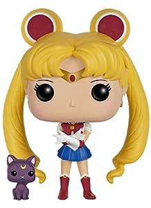 Funko - Sailor Moon & Luna figura de vinilo, colección de POP, seria Sailor Moon (6350)