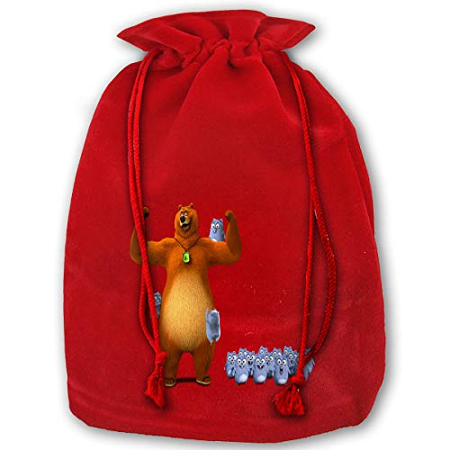 Yilele Bear and Lemmings Bag