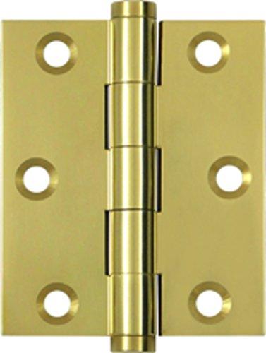 (Deltana DSB3025U3 Solid Brass 3-Inch x 2 1/2-Inch Screen Door Hinge)