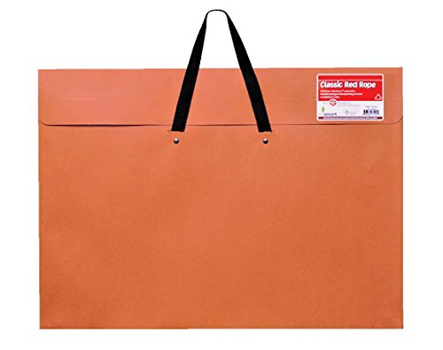 """Star Products Rope 24 x 36, Classic Red, Paper Artist Portfolio with Soft Woven Handle - Poster, Art Storage (246H), 24"""" x 36"""" from Star Products"""