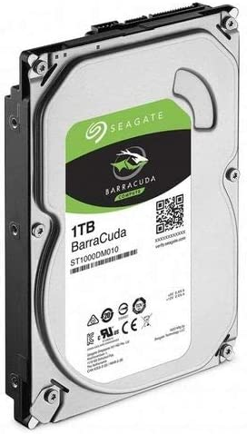 Seagate Barracuda - Disco Duro Interno de 1 TB, Color Plata ...