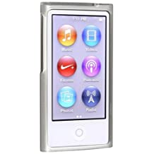 eForCity TPU Rubber Skin Case for iPod Nano 7G (Frost Clear White)
