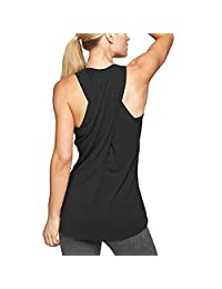 Clothing Kingfansion 🌹 Women's Cross Back Yoga Shirt Workout Active Tank Top