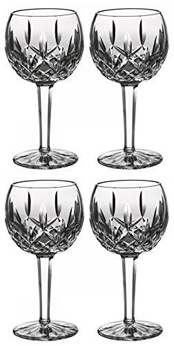 smore Balloon Wine Glasses, #6233181700, 8 Oz Set of 4 Pieces (Waterford Balloon)