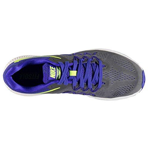 Nike Zoom winflo 3Laufschuhe Herren grau/Volt Fitness Sports Trainer Sneakers