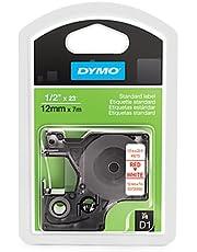 شريط لاصق D1 ستاندارد من DYMO لصناع تسمية مدير الملصق 1/2'' W x 23' L