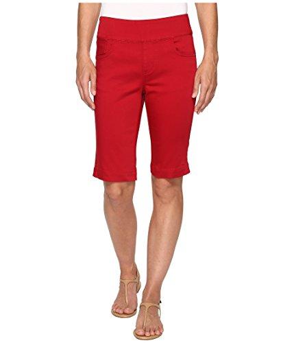 値下げ見える炭素[エフディジェイフレンチ] FDJ French Dressing Jeans レディース D-Lux Denim Pull-On Bermuda in Red パンツ [並行輸入品]