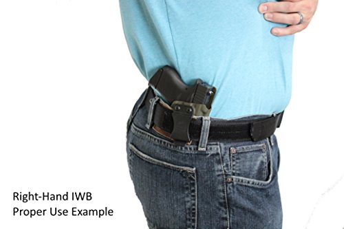 Multi Holsters Elite IWB FOMI Right-Hand Holster Compatible w/Glock 43 (Black Carbon Fiber)