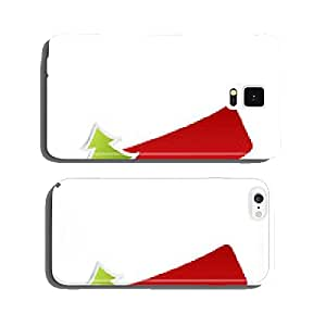 Christmas Tree Stickers cell phone cover case Samsung S6